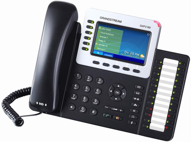 Grandstream-gxp2160-phone