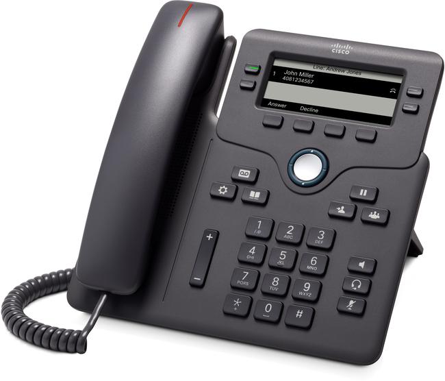 Cisco 6851 SIP phone