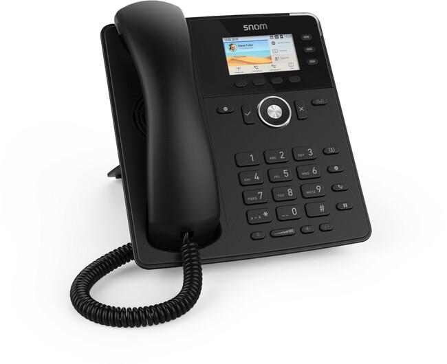 Telephone D717 Snom (black)