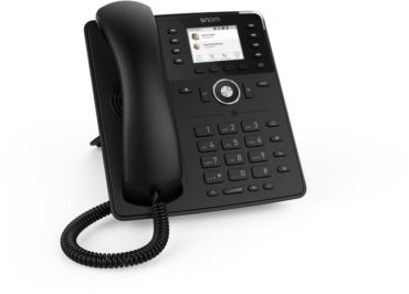 Snom D735 Phone (Black)